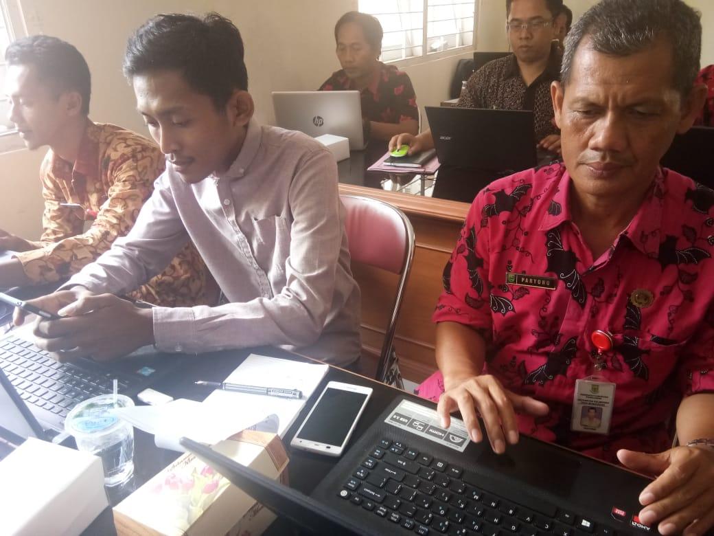 Admin Website Desa Manduraga ikuti Pelatihan
